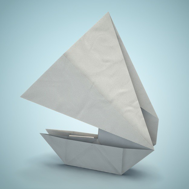 Cool Boat Origami
