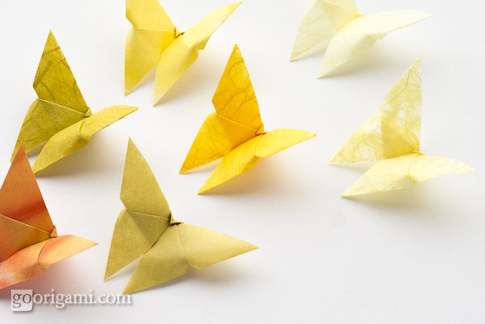 Graceful Butterfly Origami