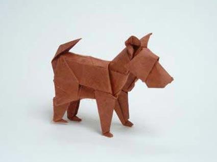 Innocent Dog Origami