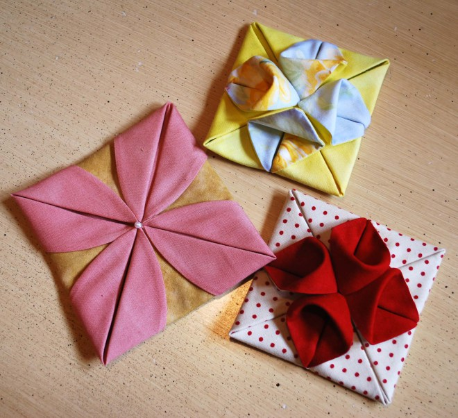 Lovely Fabric Origami