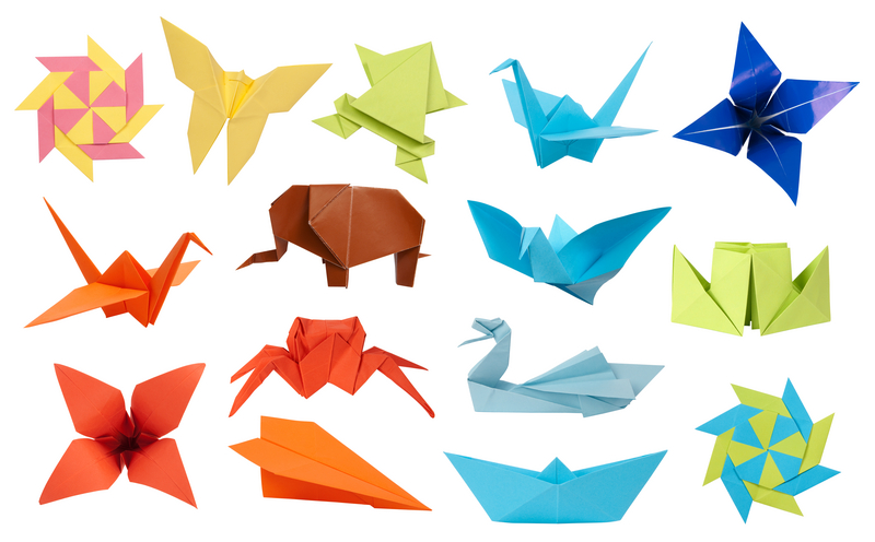 Colorful and Fun Origami