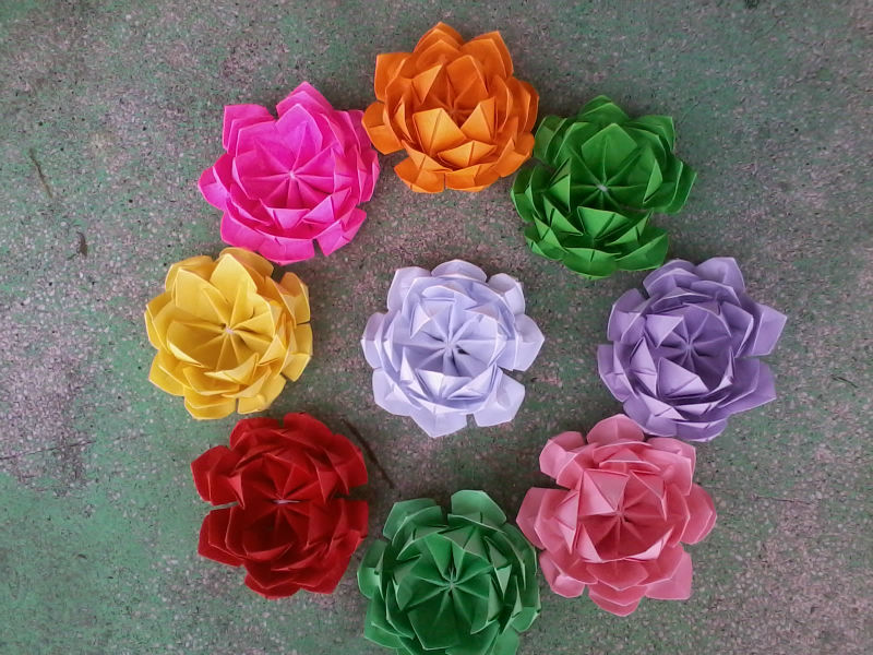 Wonderful Lotus Origami