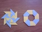 Unique Ninja Stars Origami