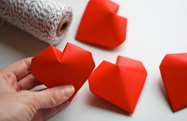 Stunning Origami 3D Heart