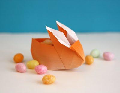 Adorable Origami Bunny