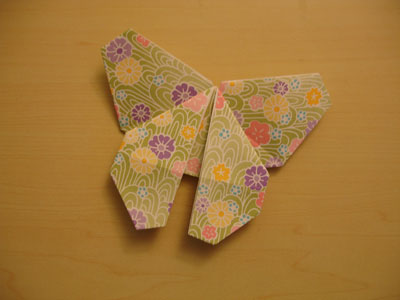 Colorful Origami Butterflies