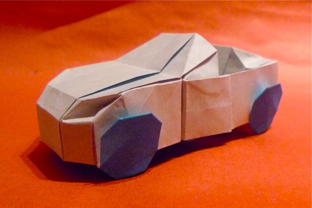 Origami origami 3d origami instructions book 3d origami instructions - Cool Origami Car 2016