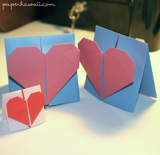 Heart Origami Card
