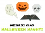 Halloween Origami from Origami-Club.Com
