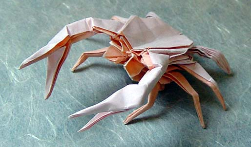 Awesome Origami Crab