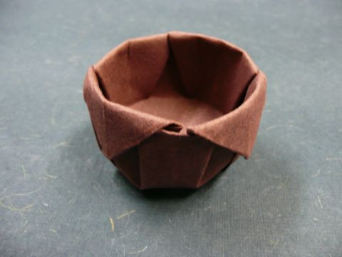 Practical Origami Cup