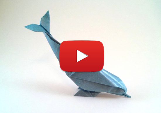 Sweet Origami Dolphin
