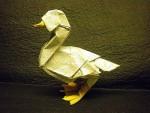 Realistic Origami Duck
