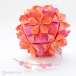 Delicate Origami Flower Ball