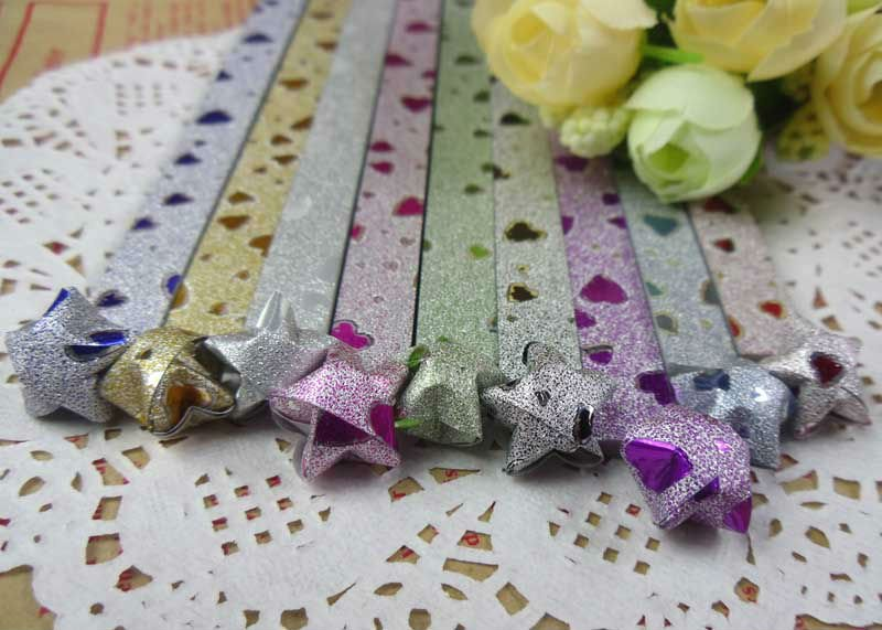 Colorful Shiny  Dust Origami For Sale