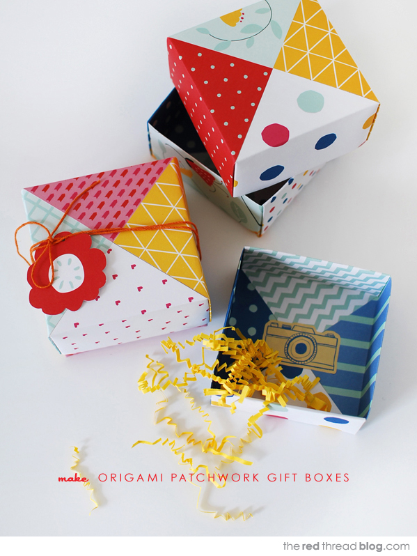 Colorful Origami Gift
