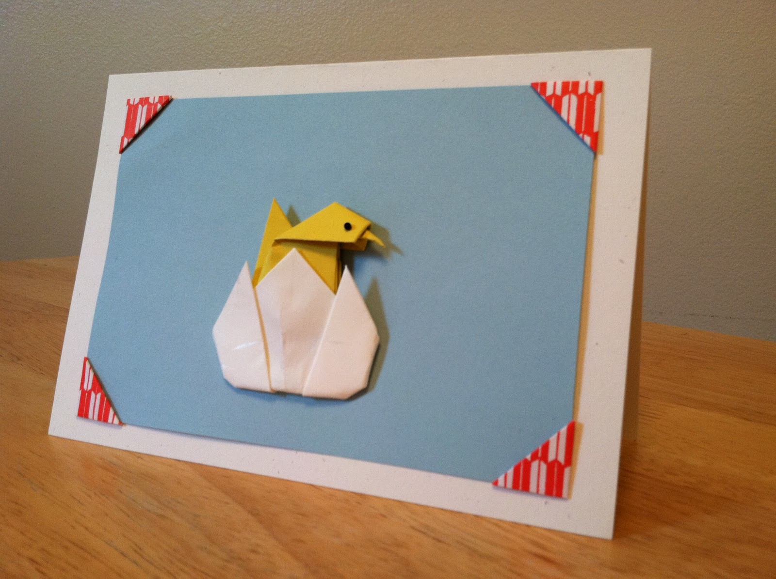 Bird Origami Greeting Cards