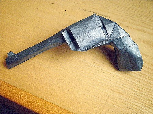 Awesome Origami Gun