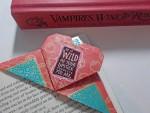 Useful Origami Heart Bookmark