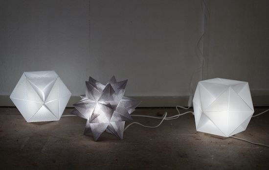 Unique Origami Lamp