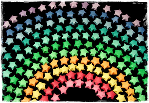 Charming Origami Lucky Stars