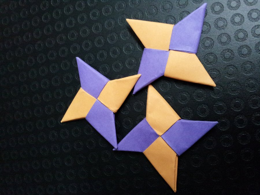 Check out these Origami Ninja Stars