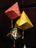 Unique Origami Ornaments