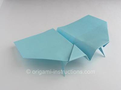 Simple Origami Paper Plane