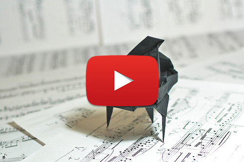 Cute Mini Origami Piano