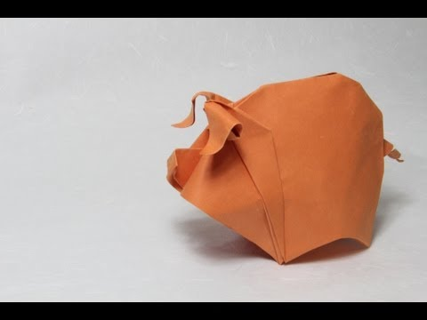 Adorable Origami Pig