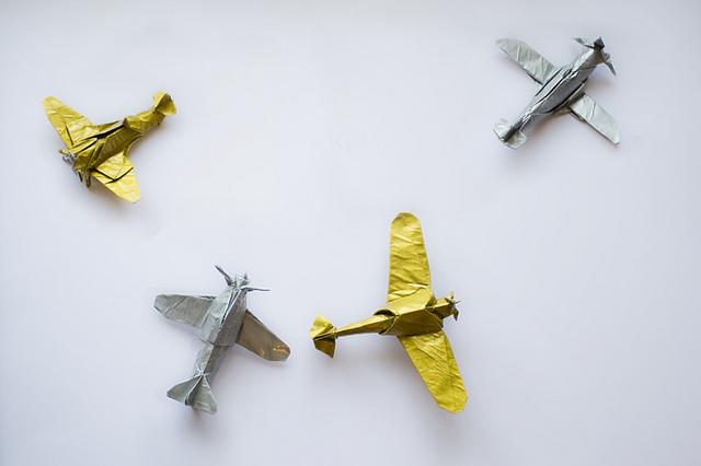 Mini Origami Planes