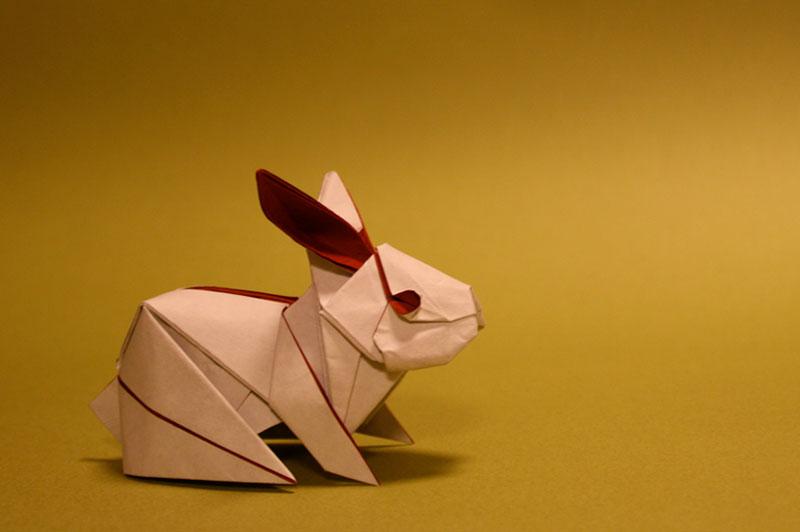Realistic Origami Rabbit