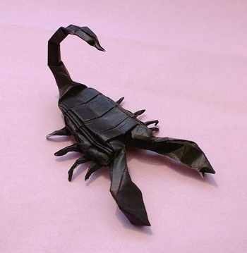 Fierce Origami Scorpion