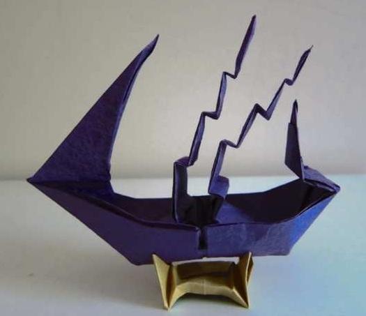 Grand Origami Ship