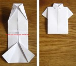 Simple Easy Origami Shirt