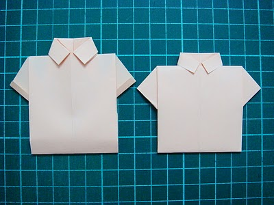 Easy Origami Shirts