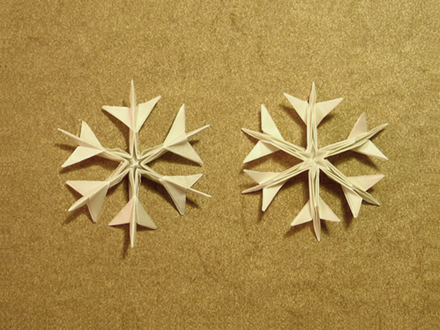 Pleasant Origami Snowflake