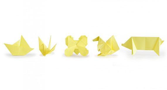 Refreshing Origami Sticky Notes