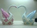 Wonderful Origami Swan 3D