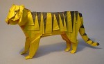 Check out this Origami Tiger
