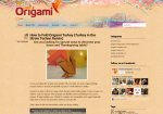 Sample Origami Websites