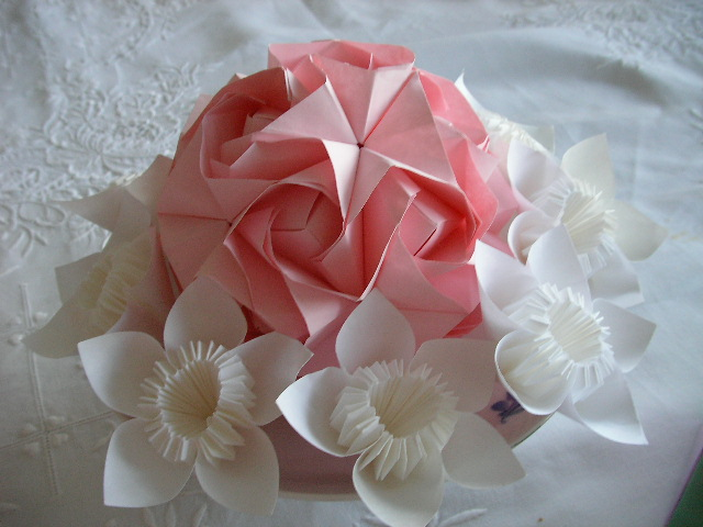 Lovely Origami Wedding