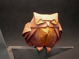 Sleepy Owl Origami