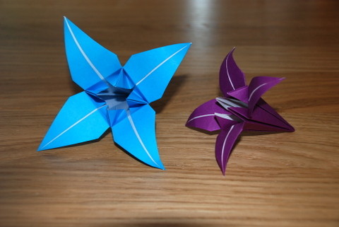 Very Simple Origami Flower