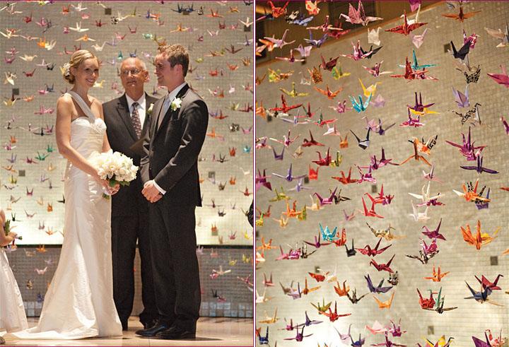 Delightful Wedding Origami