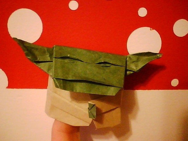 Cute Little Yoda Origami