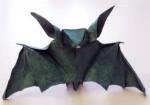 Cool Black Origami Paper