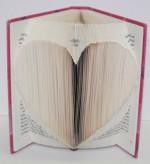 Heart Book Origami
