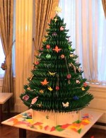 Big Christmas Tree Origami