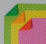 Polka Dot Double Sided Origami Paper